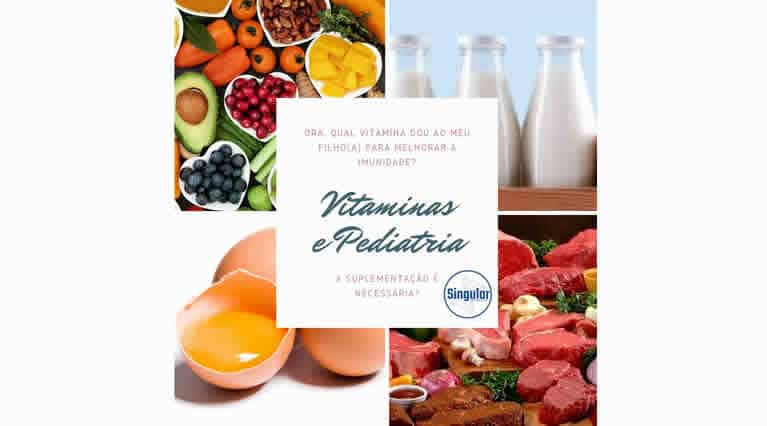 Vitaminas e Pediatria