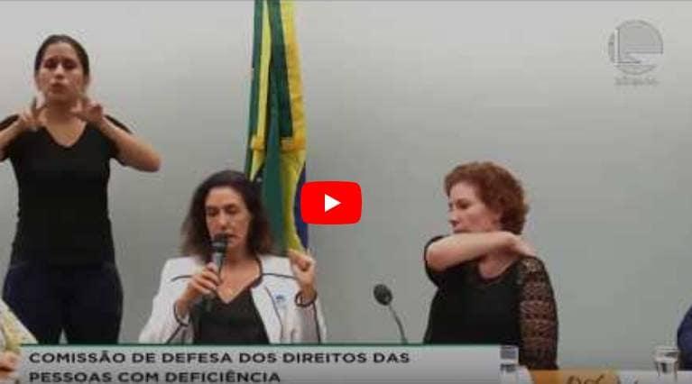 Participação da Drª Emília Katiane Embiruçu no Evento Conscientização de Doenças Raras