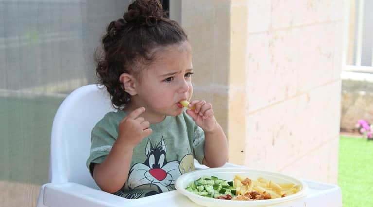 Seu filho(a) tem dificuldade para se alimentar?